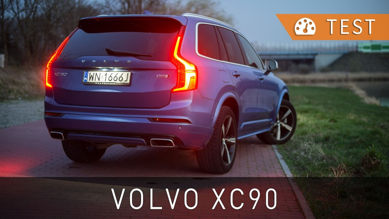 volvo xc  awd  km  design  test pl review eng  project automotive youtube