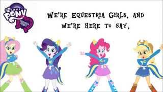 My Little Pony: Equestria Girls - The EG Stomp [On-Screen Lyrics]