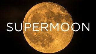 SUPERMOON ON MONDAY :: NIGHT PHOTOGRAPHY