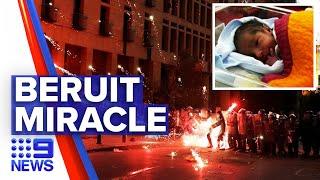 Lebanon government resigns amid fury over explosion | 9 News Australia