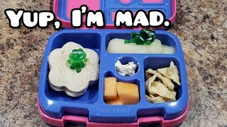 Someone hit Bella - Packing Bento Styled Lunches - Kid School Lunches - Bella Boo