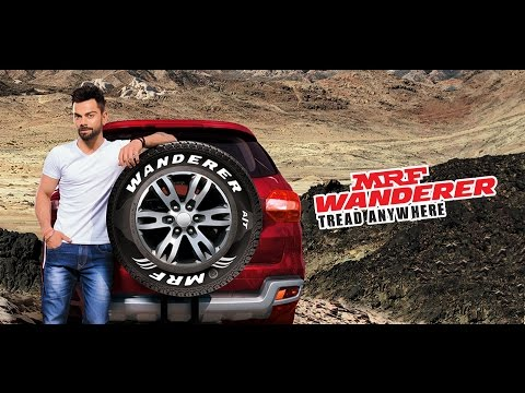 MRF Wanderer - Tread Anywhere featuring Virat Kohli (English)