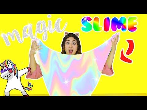 DIY MAGIC SLIME | How to make Instagram green screen magic slime | Slimeatory #132