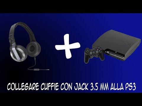 fe73c2cadb43bb Collegare cuffie con jack 3.5 mm alla PS3 - YouTube