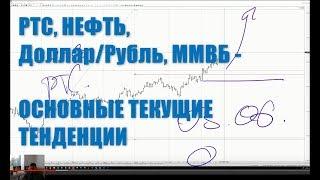 """25.06.19г. """"БИРЖА"""". РТС, Доллар/ Рубль, Газпром, Нефть... Учимся читать графики, и ставить ЦЕЛИ."""