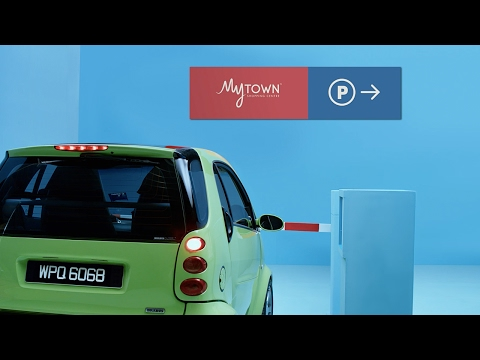 Easy Peasy Goosey Parking - MyTOWN Shopping Centre