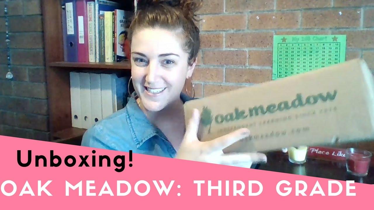 Oak Meadow Unboxing Our 2017 Third Grade Curriculum