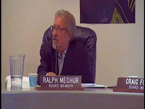 Santa Monica Malibu Unified School District Special Board Meeting October 30, 2017