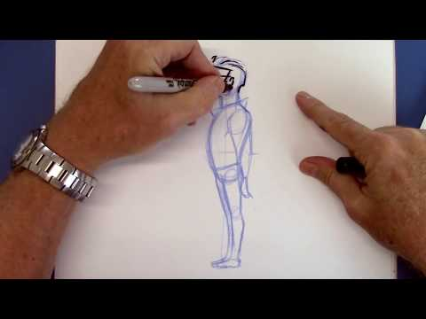 Secrets For Drawing Cartoon People Easy Youtube