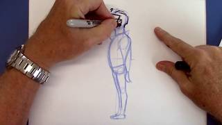 SECRETS FOR DRAWING CARTOON PEOPLE - EASY!