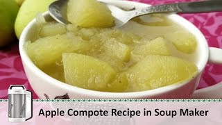 Apple Murabba Recipe | Apple Compote Recipe | Seb Ka Murabba | Philips Soup Maker By Healthy Kadai