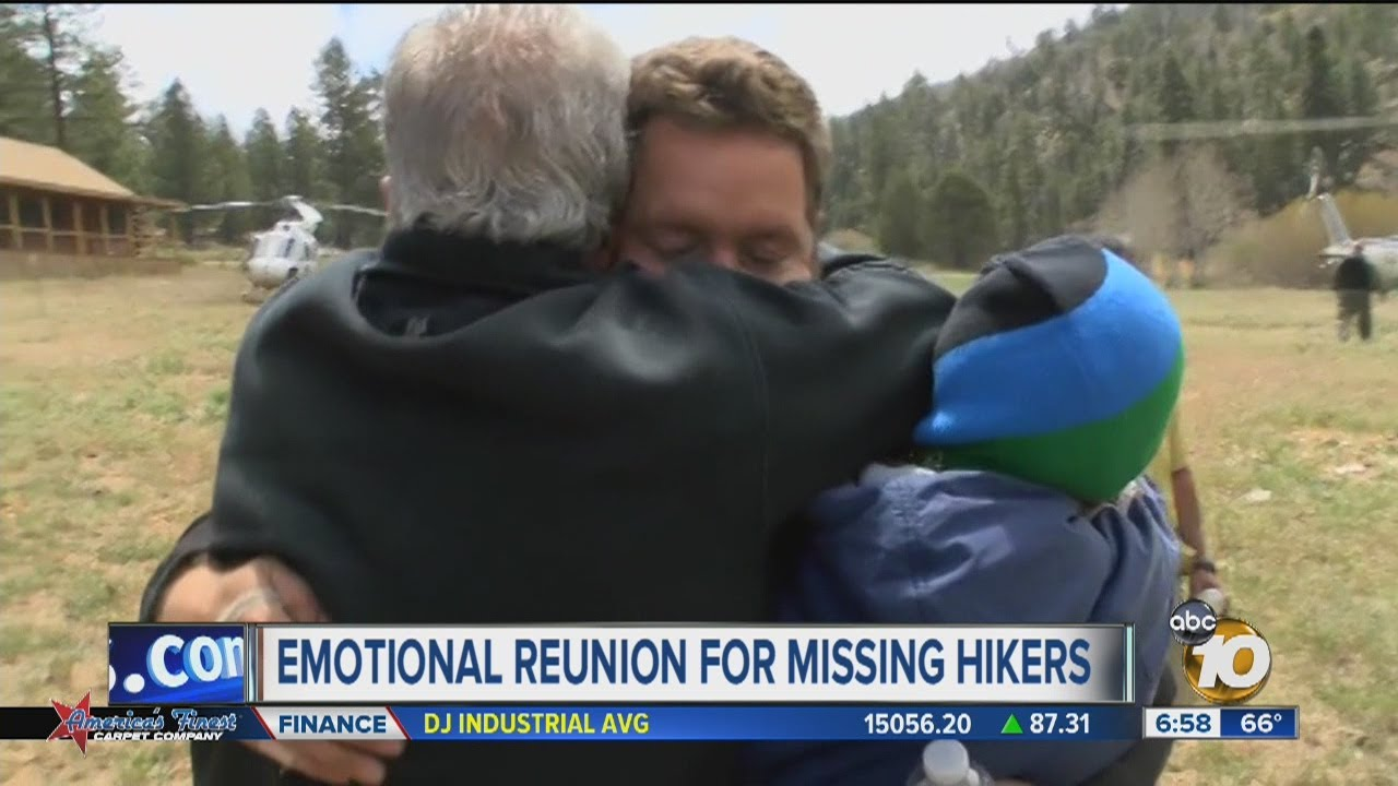 San Diego Hikers Reunited with Family After Going Missing in Mexico
