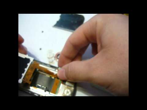 Sony Ericsson W580i Disassembly & Assembly - Digitizer, Screen & Case Replacement Repair