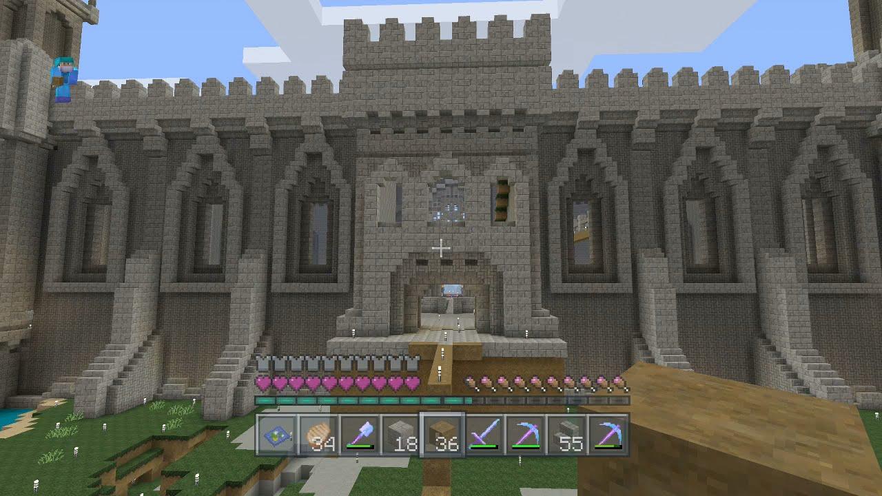 Ep16 Minecraft Heavenandearth Medieval Castle Keep Youtube