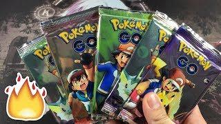 EXCLUSIVE RARE POKEMON GO BOOSTER PACKS!