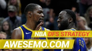DraftKings & FanDuel NBA DFS Strategy - Thu 11/15 - Awesemo.com