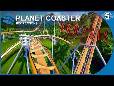 Planet Coaster - Recreations 05 - Nemesis - Alton Towers United Kingdom