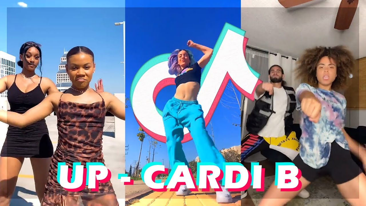 Download Cardi B - Up TikTok Dance Challenge Compilation
