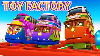 Toy Factory Cartoon Train: Choo Choo Train Cartoon for Children: Thomas The Train