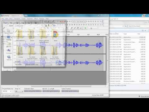 downloading audacity and mp3 library