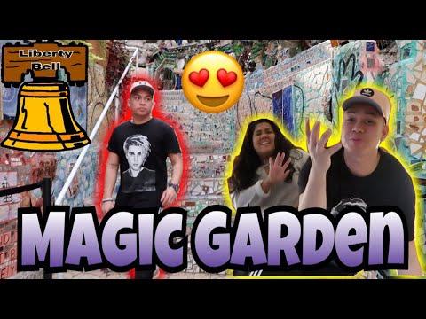 PHILADELPHIA TRAVEL VLOG | MAGIC GARDEN | LIBERTY BELL | PART 1 OF 3 (VLOG # 19)
