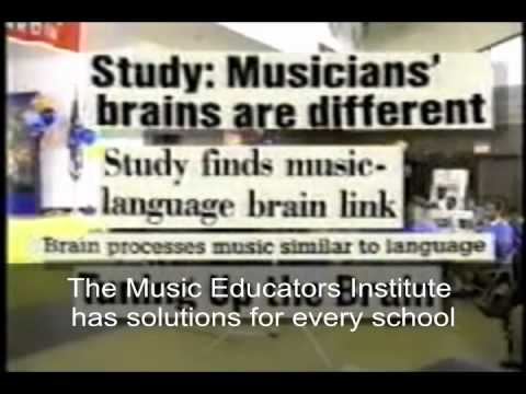 Benefits of music in education