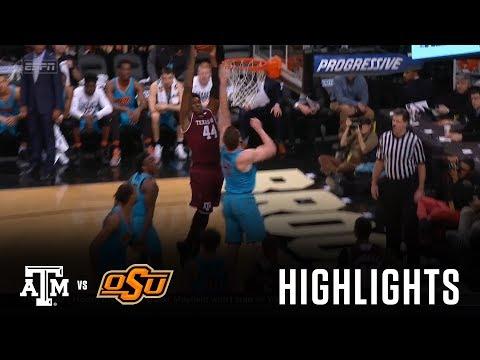 Men's Basketball: Highlights | A&M 72, Oklahoma State 55