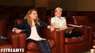 streamys app interviews with hannah hart and grace helbig streamys 2014