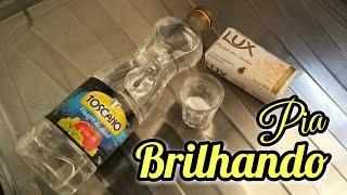PIA DA COZINHA BRILHANDO – Vinagre, Bicarbonato e Lux