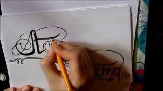 """How to draw: Demi Lovato tattoo """"Stay Strong"""""""