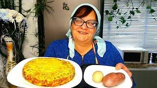 Полезный Завтрак в Духовке Омлет из яиц с картошкой