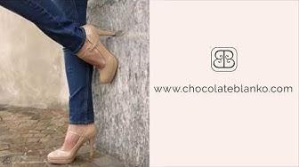 Bequeme High Heels - Chocolate Blanko - Zürich Schweiz