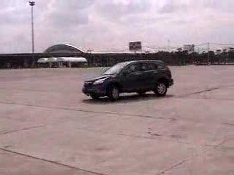 CR-V 2007 Test Drive Part 2