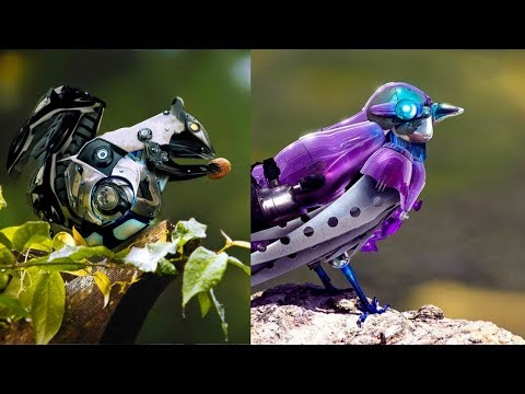AMAZING ROBOTIC DEVICE INVENTION ▶ Robot Bird Can Really Fly
