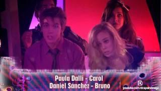 La Gira - Beso de Paula Dalli y Dani Sánchez (Carol y Bruno)