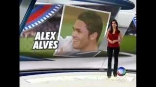 MORRE ALEX ALVES,O JOGADOR,DE LEUCEMIA-14/11/12- CANAL1000 - CANAL NOVO NO YOUTUBE -