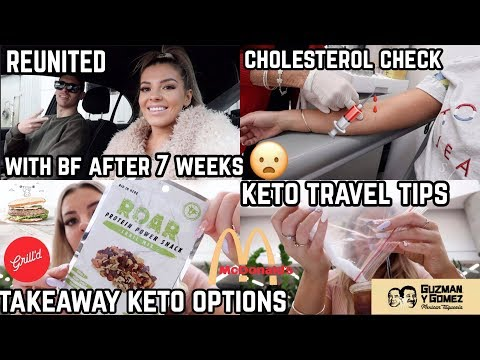 WEEKLY PERTH VLOG ✈️ KETO TRAVEL/TAKEOUT TIPS 🍔 CHOLESTEROL CHECK 😧💉 MEET MY BF 💑  JASMINE HAND