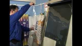 Тонировка стекол автомобиля часть 1(Тонировка стекол своими руками. Сделать тонировку стекла автомобиля своими руками (не прибегая к услугам..., 2012-10-29T14:55:33.000Z)