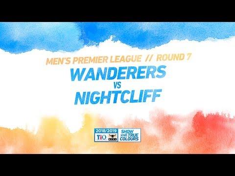 Wanderers vs Nightcliff: Round 7 - Men's Premier League: 2018/19 TIO NTFL
