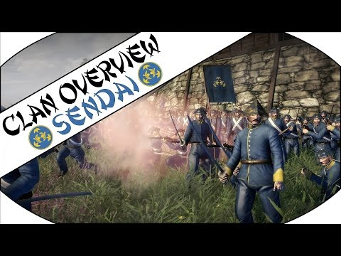 SENDAI CLAN OVERVIEW - Total War: Shogun 2 - Fall of the Samurai!