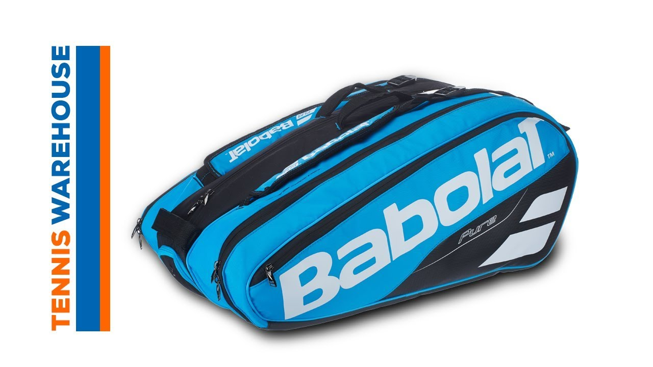 Babolat Pure Drive 12 Pack Tennis Bag - YouTube d95100078f4ae