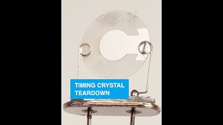 Timing Crystal Teardown - Collin's Lab Notes #adafruit #collinslabnotes