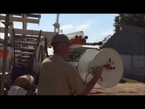 Hunke Pump Hoist Wire Winder