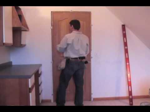 EZ Hang Door installation How to hang a doorEZ Hang Door installation How to hang a door   YouTube. Ez Hang Exterior Door. Home Design Ideas