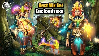 Enchantress Best Mix Set Eminence of the South Star + Virga's Arc + Flourishing Lodestar