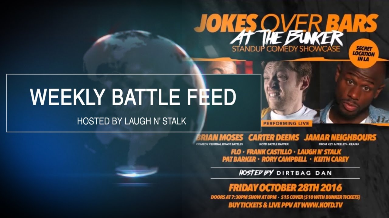 WEEKLY BATTLE FEED - COMEDY AT THE BUNKER, BUNKER BATTLES, GULLY VS GANIK