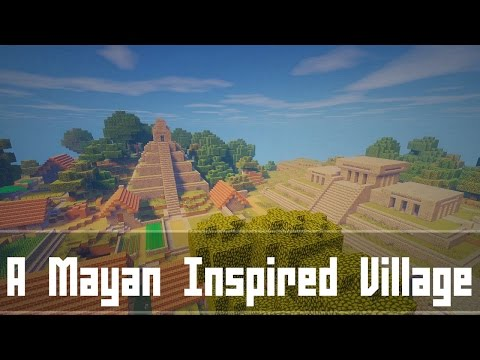 Minecraft | A Mayan Inspired Village
