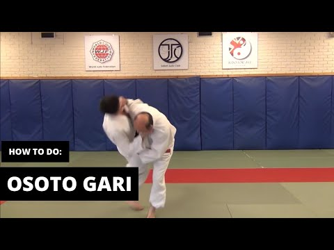 How to do Osoto Gari
