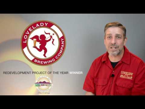 2016 Economic Development Awards Winner -- Lovelady Brewing Company