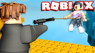 MAKING ROBLOX NOOBS FALL OFF A GIANT CLIFF. THIS IS VERY SAD. (EMOTIONAL)